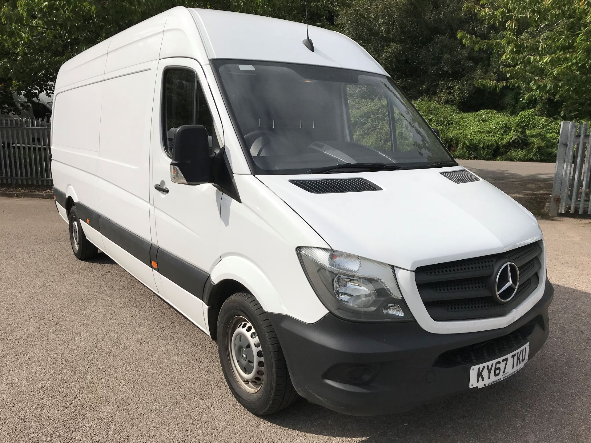2017 Mercedes-Benz Sprinter 3.5T High Roof Van euro6 (KY67TKU)