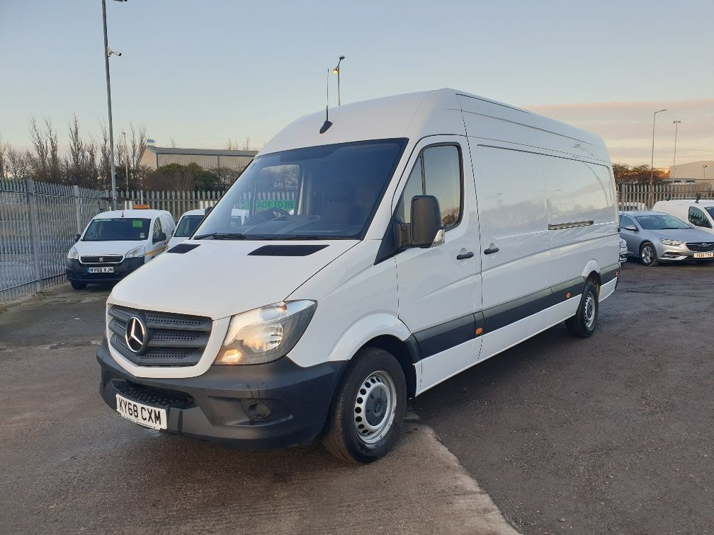 2018 Mercedes-Benz Sprinter  314 LWB H/R VAN EURO 6 *SPEED RESTRICTER SET @ 73mph* (KY68CXM) Thumbnail 3