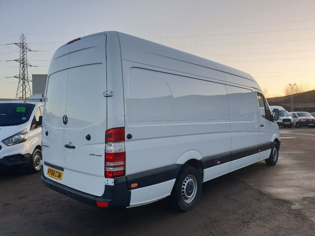2018 Mercedes-Benz Sprinter  314 LWB H/R VAN EURO 6 *SPEED RESTRICTER SET @ 73mph* (KY68CXM) Thumbnail 12