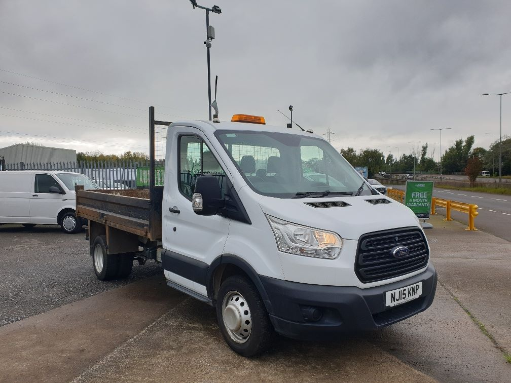 2015 Ford Transit 350 L2 SINGLE CAB TIPPER 100PS EURO 5 (NJ15KNP)