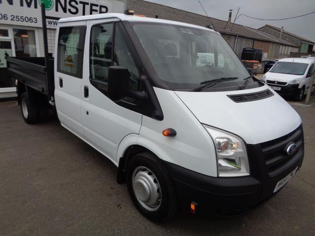 2014 Ford Transit D/Cab Tdci 100Ps [Drw] Euro 5 TIPPER (NK64OMZ)