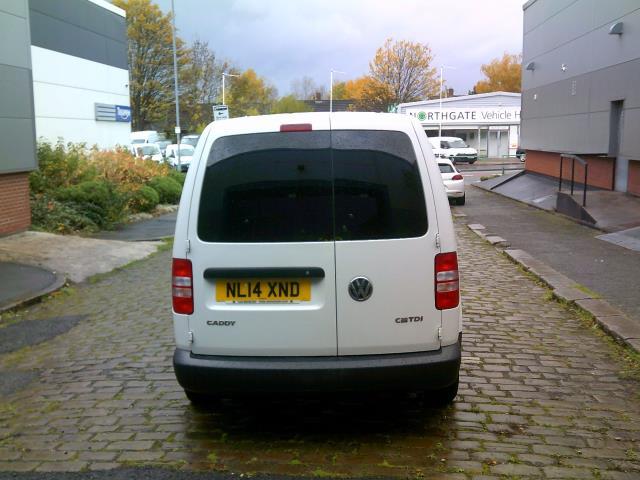 2014 Volkswagen Caddy Maxi 1.6 102PS STARTLINE EURO 5 (NL14XND) Image 4
