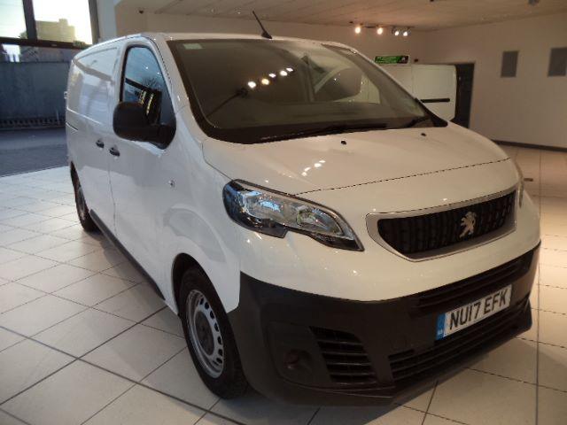 2017 Peugeot Expert 1000 1.6 Bluehdi 95 S Van (NU17EFK)