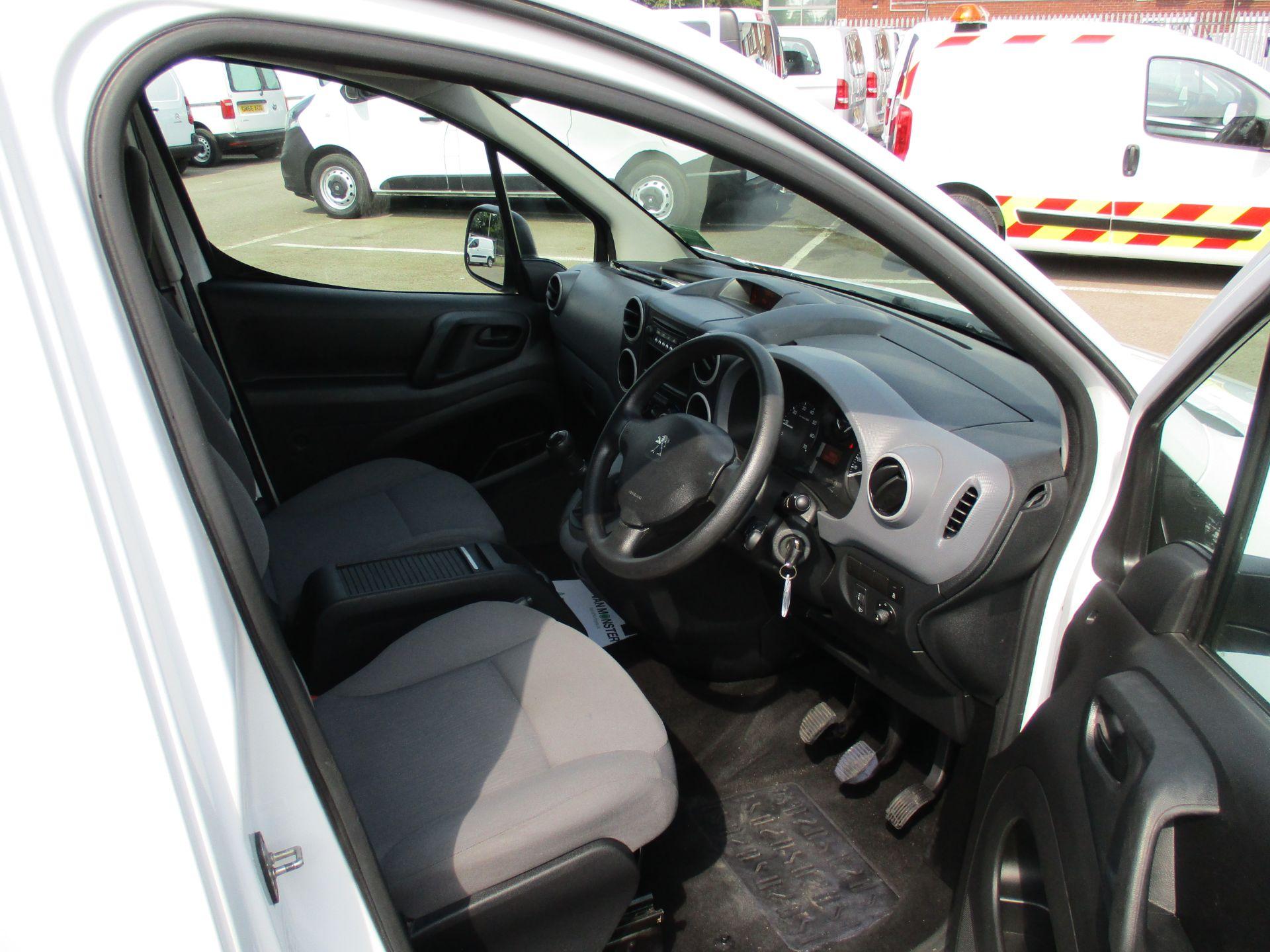 2016 Peugeot Partner 850 S 1.6 Hdi 92 Van [Sld] (NU66AVR) Image 11