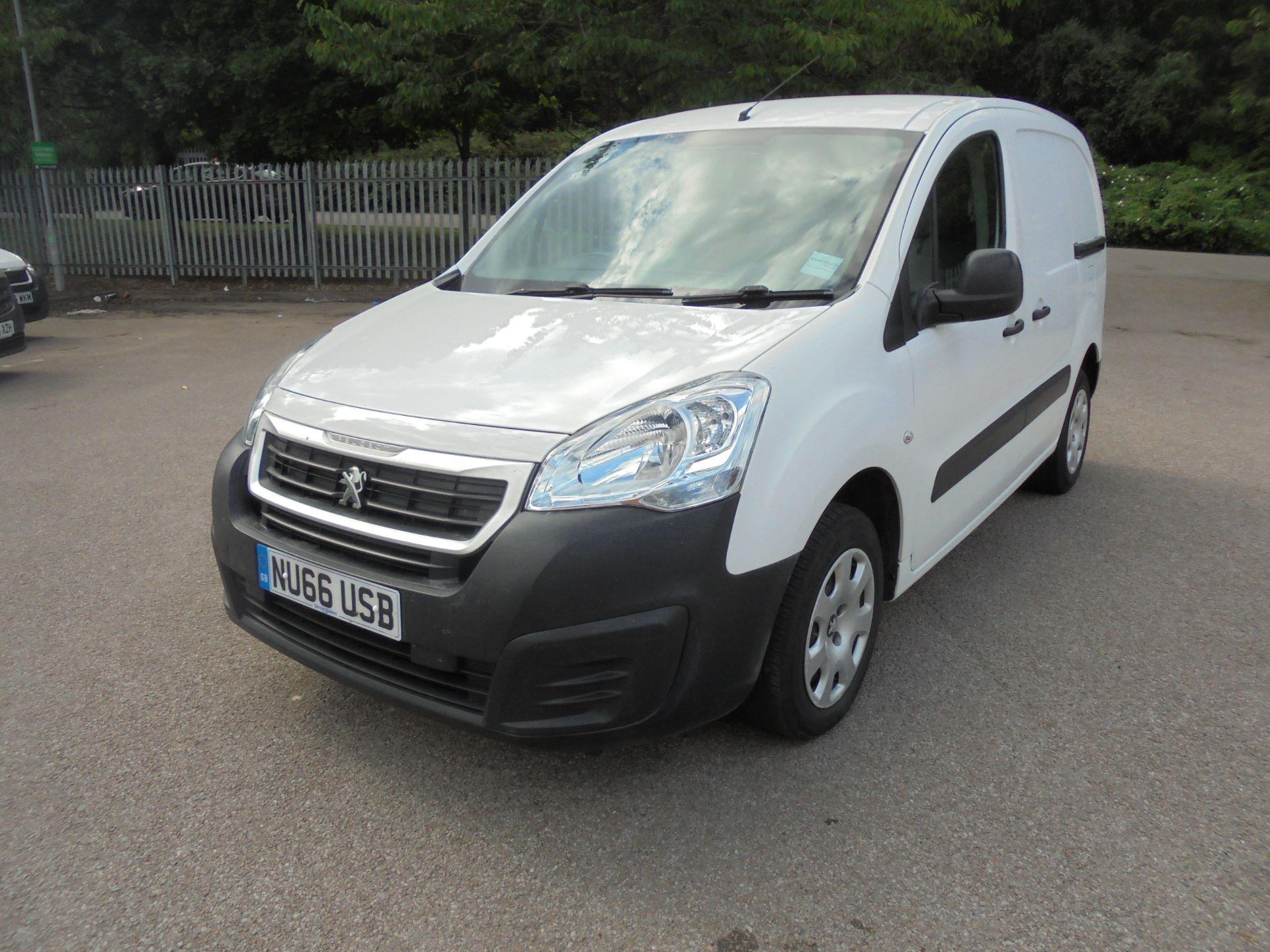 2016 Peugeot Partner 850 Se 1.6 Hdi 92 Van (NU66USB)