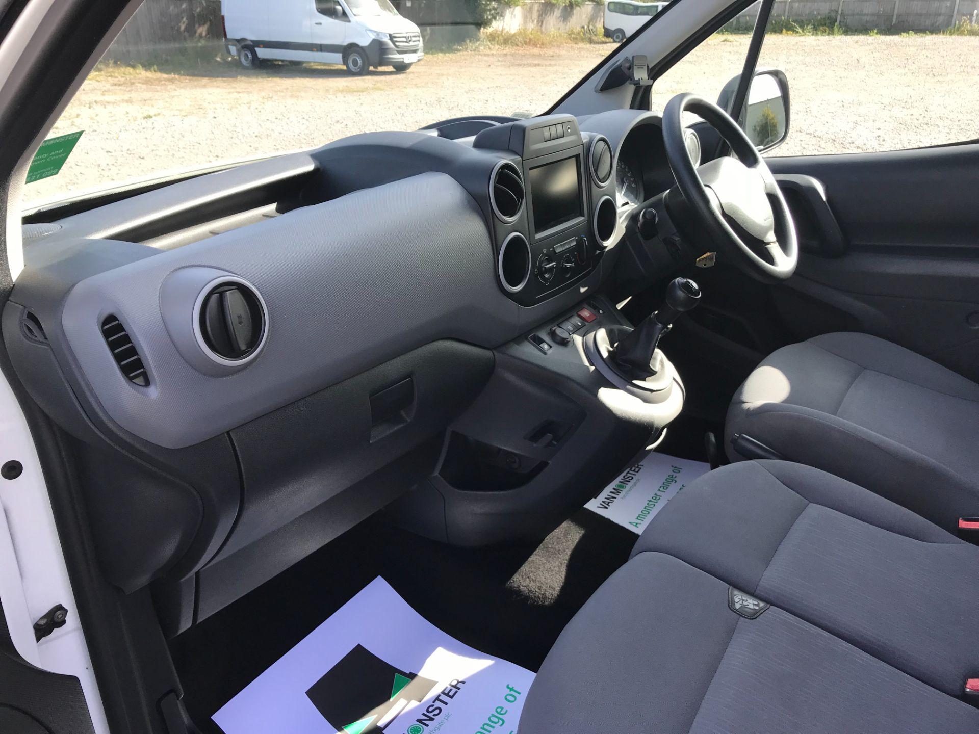2016 Peugeot Partner 850 1.6 Bluehdi 100 Professional Van [Non Ss] (NU66YBX) Image 14