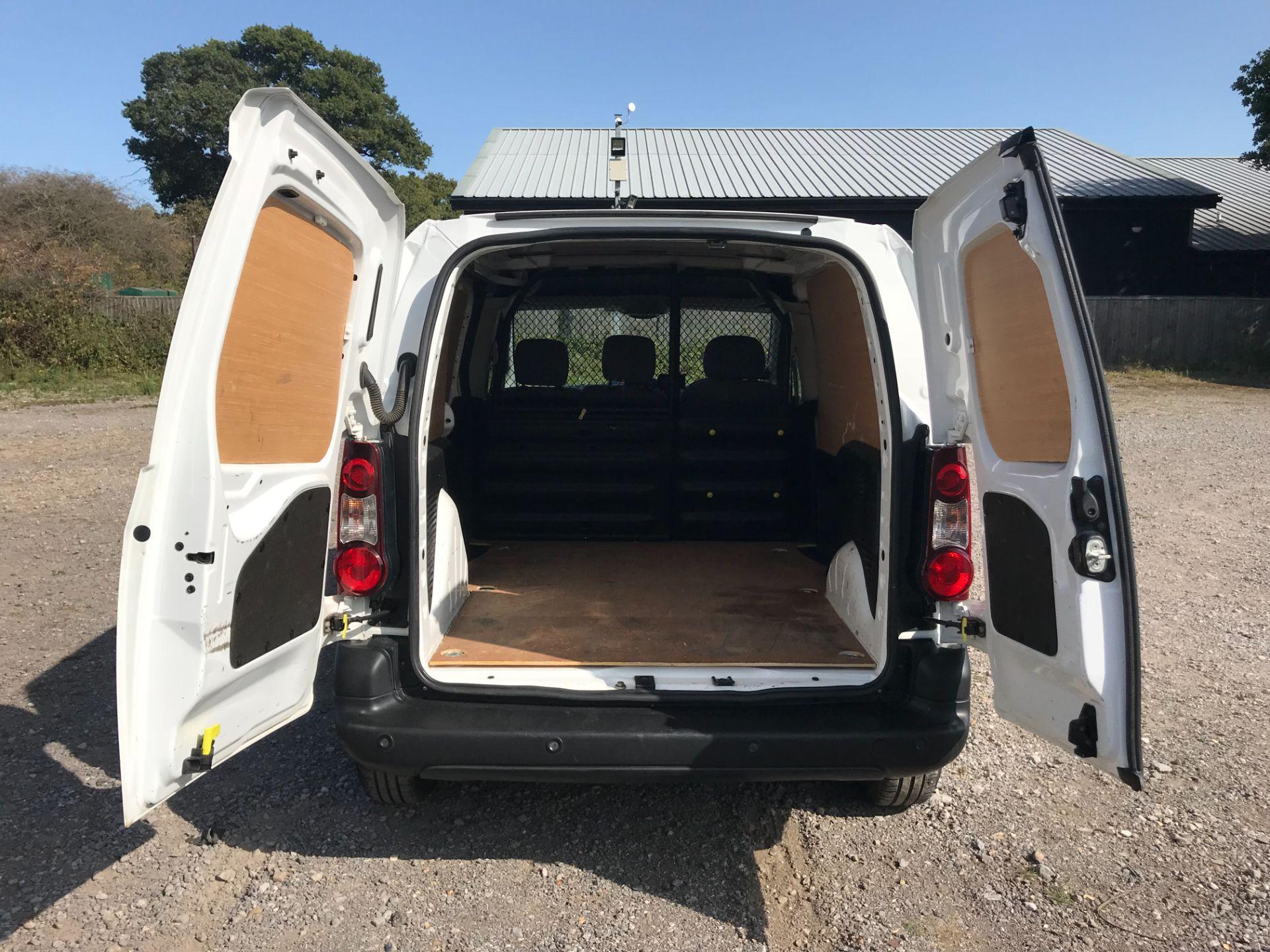 2016 Peugeot Partner 850 1.6 Bluehdi 100 Professional Van [Non Ss] (NU66YBX) Image 11