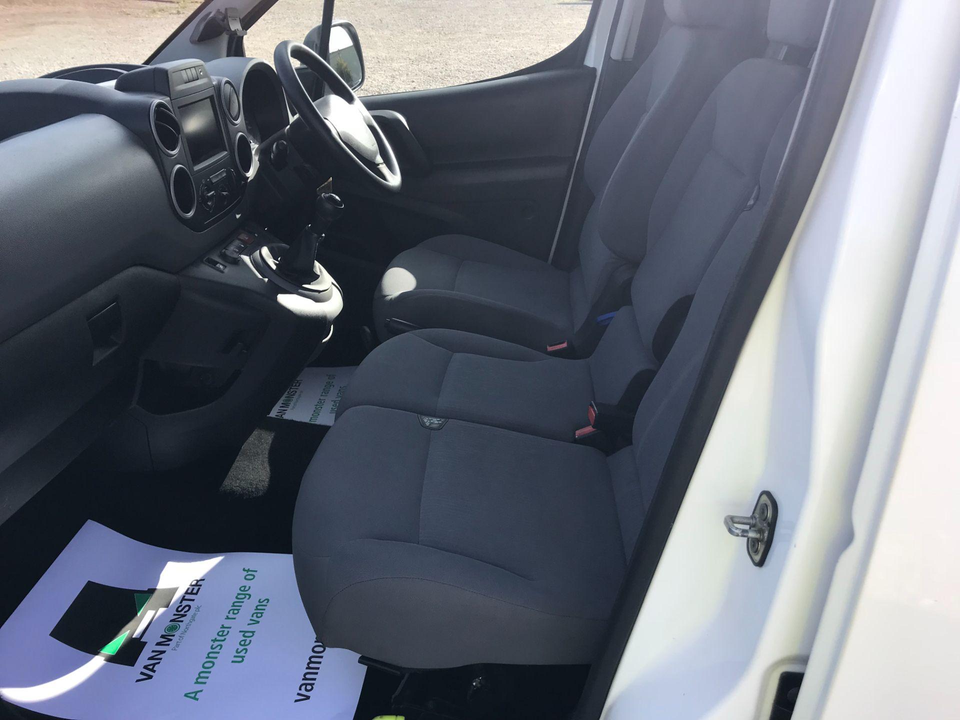 2016 Peugeot Partner 850 1.6 Bluehdi 100 Professional Van [Non Ss] (NU66YBX) Image 15