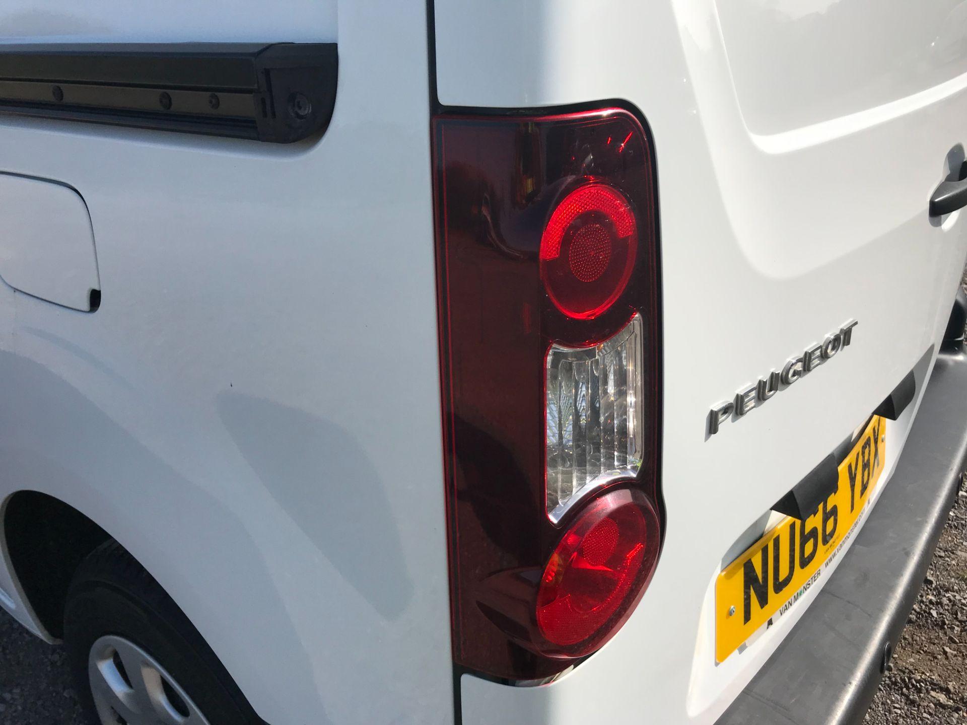 2016 Peugeot Partner 850 1.6 Bluehdi 100 Professional Van [Non Ss] (NU66YBX) Image 35