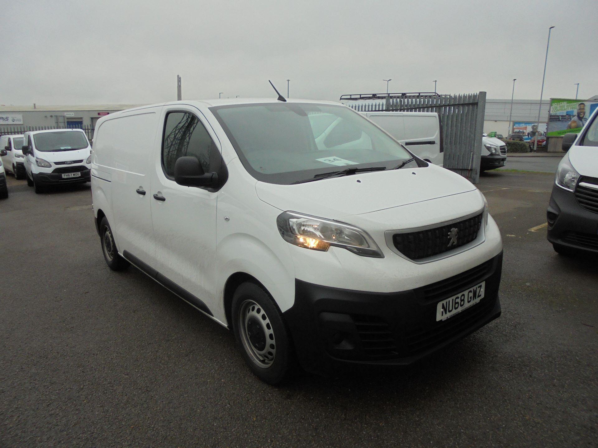 2018 Peugeot Expert 1000 1.6 Bluehdi 95 Professional Van (NU68GWZ)