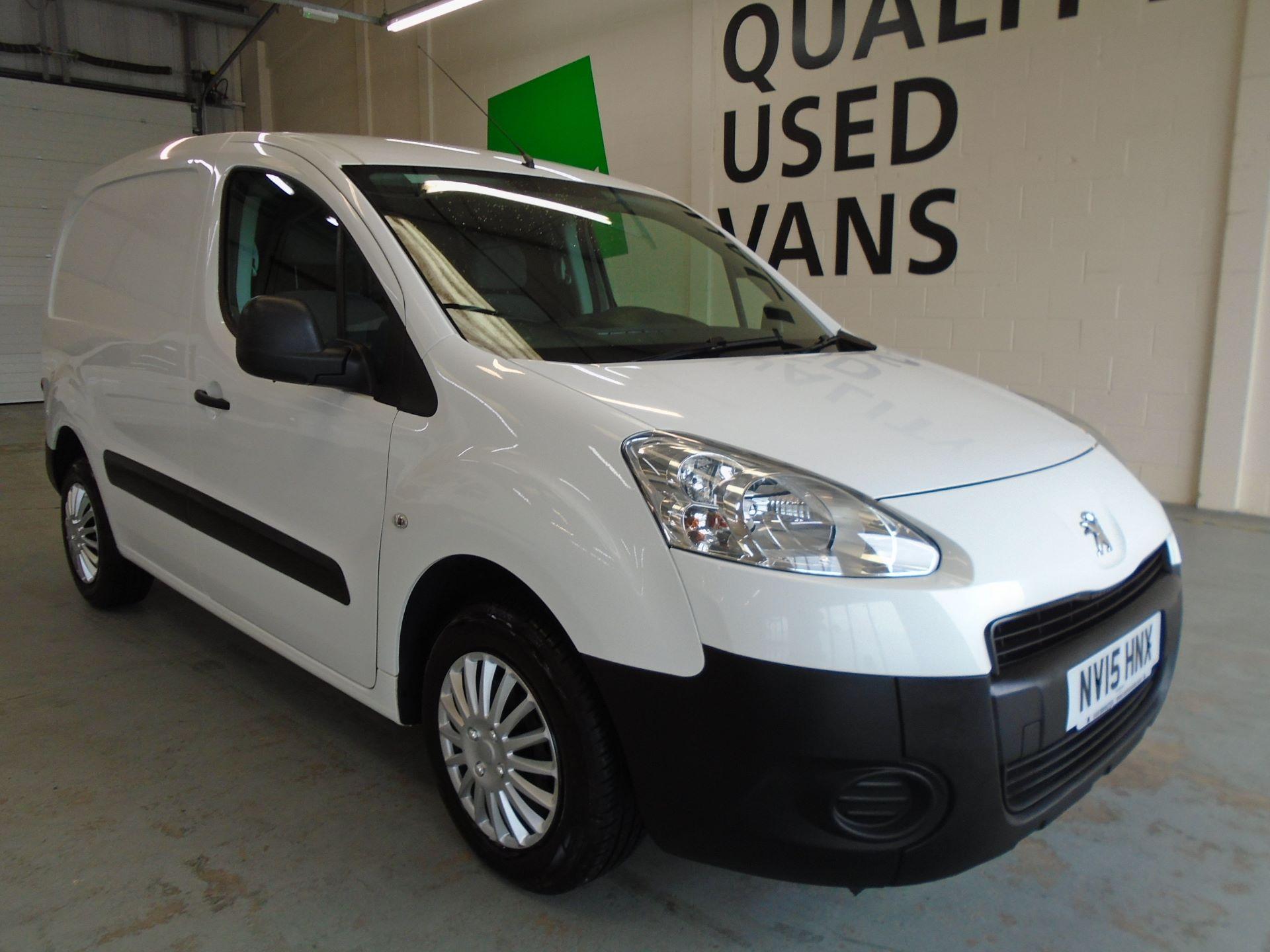 2015 Peugeot Partner 850 S 1.6 Hdi 92 Van [Sld] (NV15HNX)