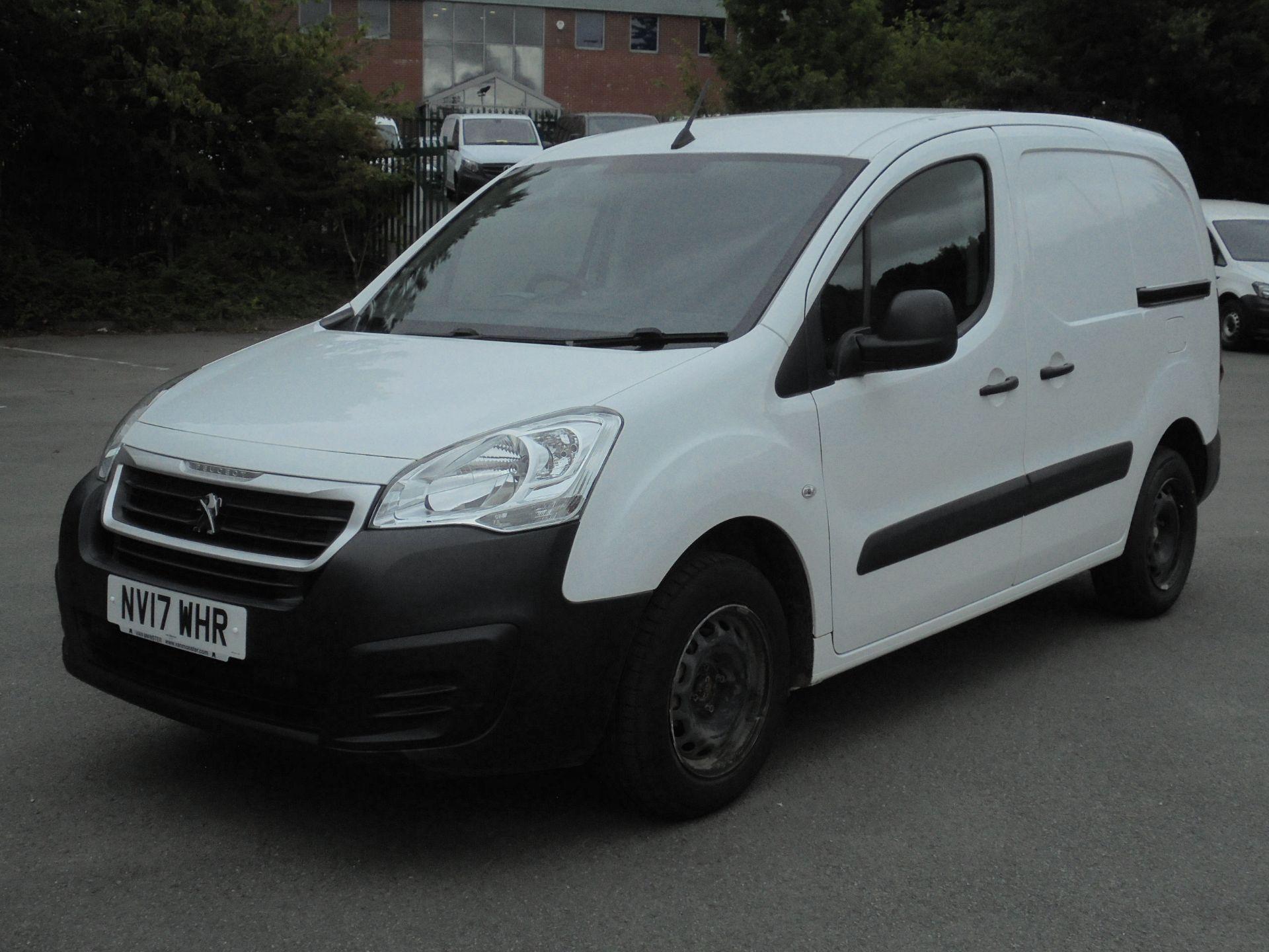 2017 Peugeot Partner 850 1.6 Bluehdi 100 Professional Van [Non Ss] (NV17WHR) Image 3