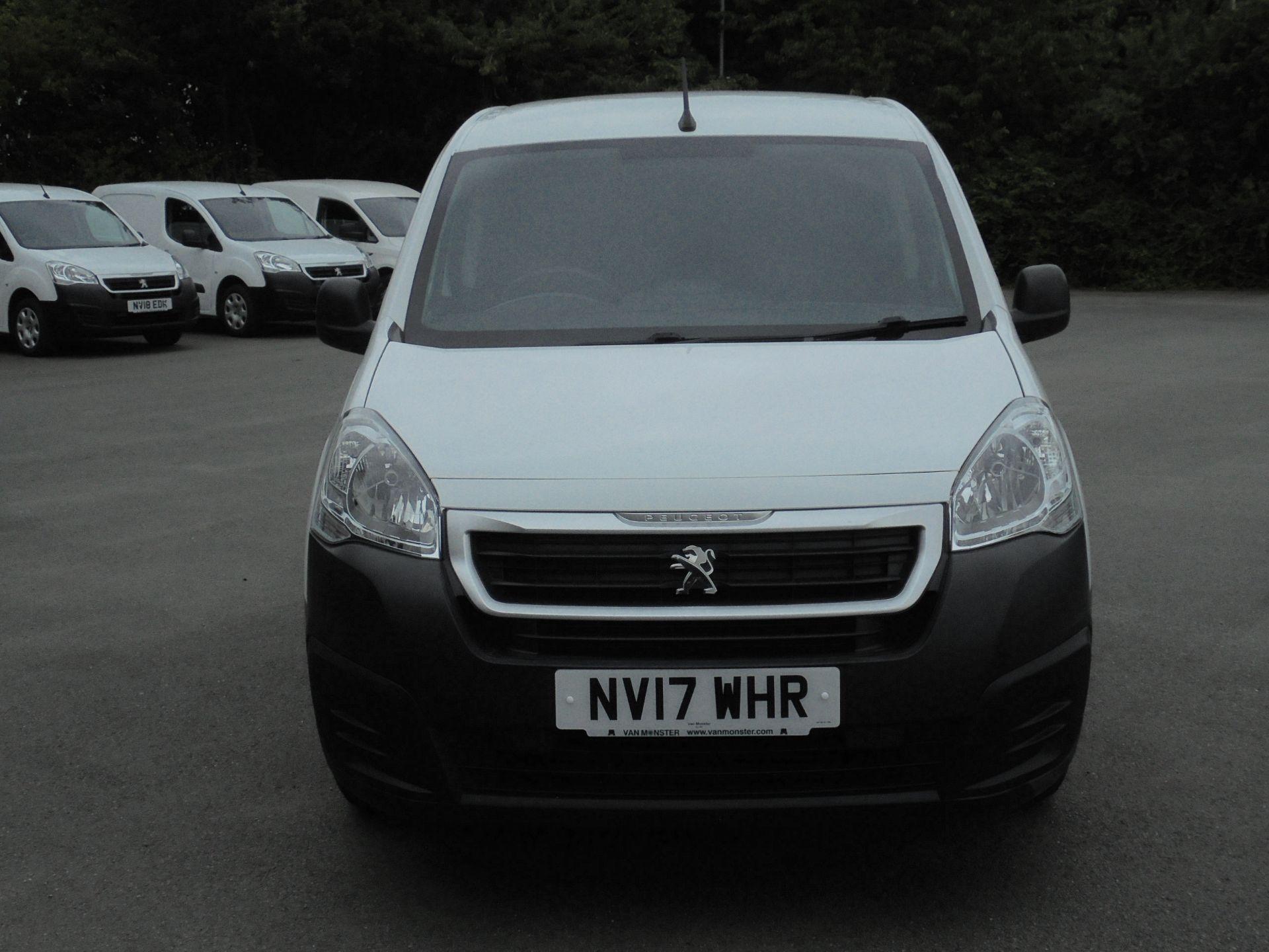 2017 Peugeot Partner 850 1.6 Bluehdi 100 Professional Van [Non Ss] (NV17WHR) Image 2