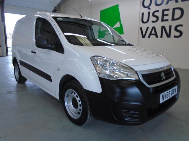 2017 Peugeot Partner 850 S 1.6 Bluehdi 100 Van [Sld] (NV66OVW)