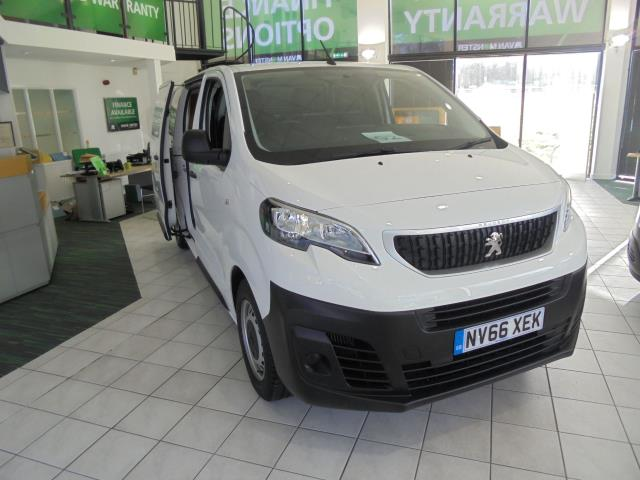 2017 Peugeot Expert 1000 1.6 Bluehdi 95 S Van (NV66XEK)