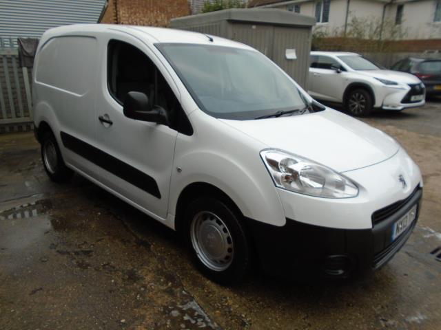 2013 Peugeot Partner 850 S 1.6 Hdi 92 Van (NX13TFK)