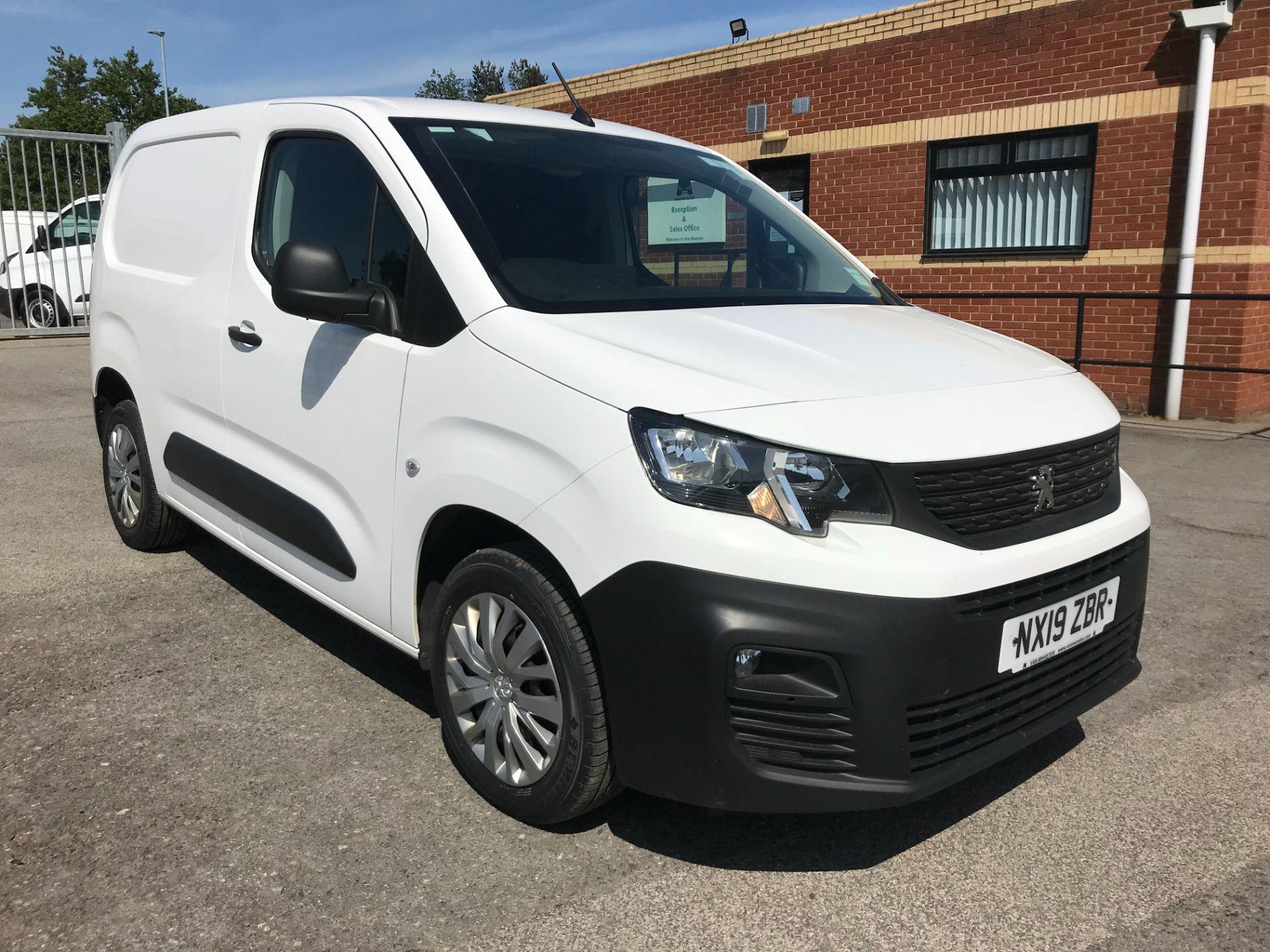 2019 Peugeot Partner 1000 1.6 Bluehdi 100 Professional Van