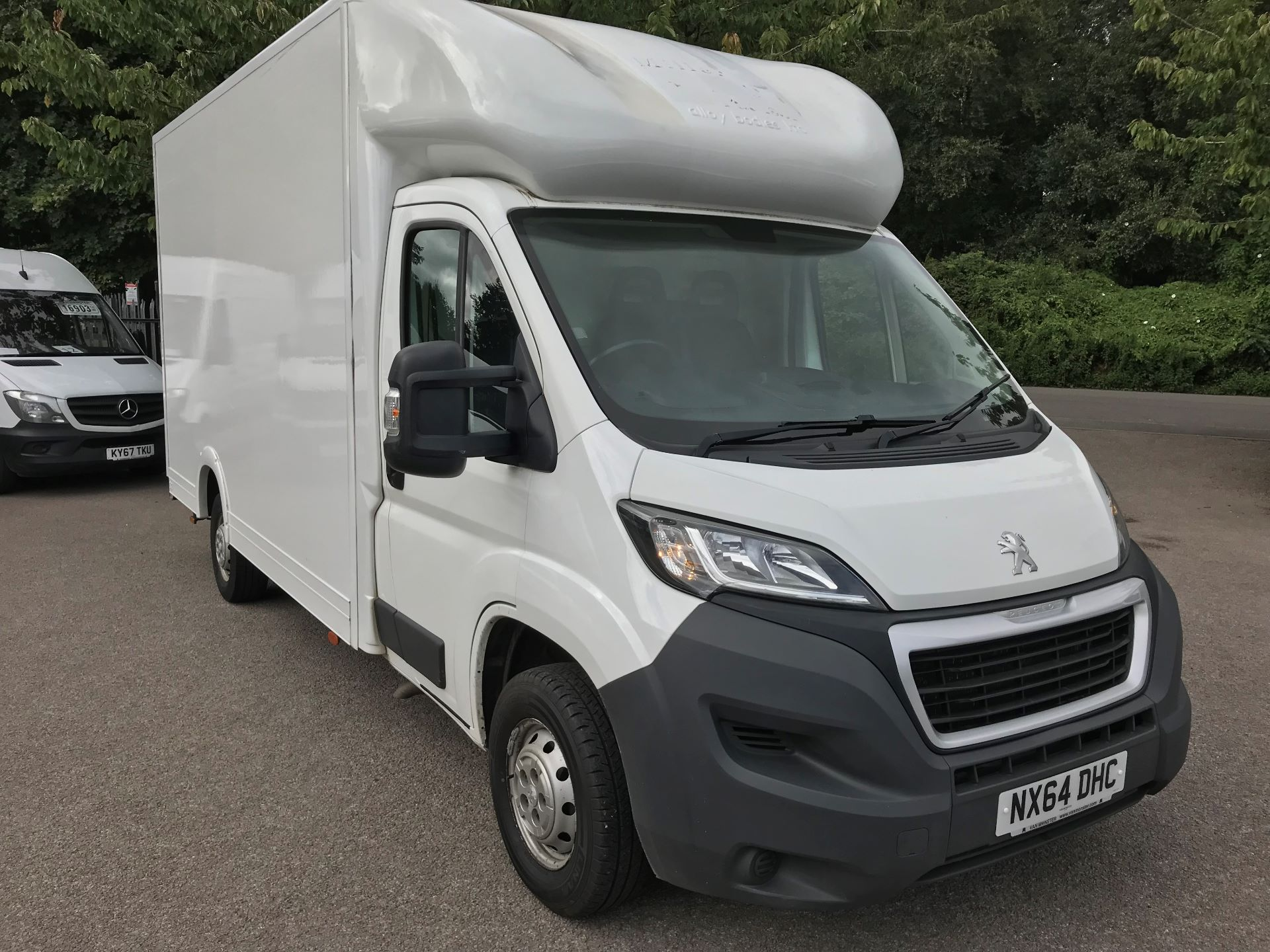 2014 Peugeot Boxer 2.2 Hdi Floor Cab 130Ps euro 5 (NX64DHC)