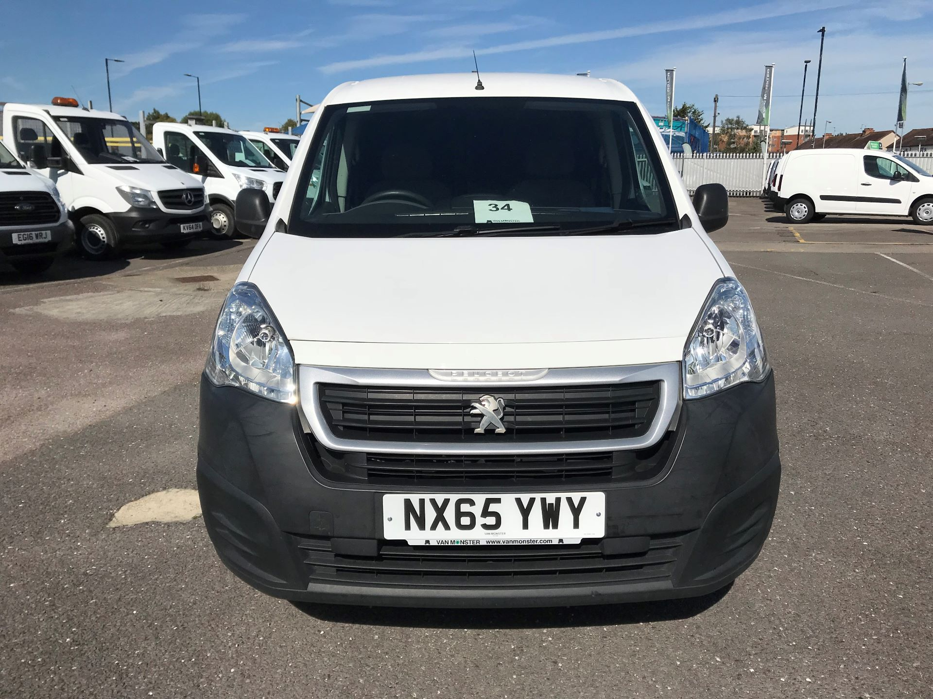 2015 Peugeot Partner  L1 850 1.6 92PS (SLD) EURO 5  (NX65YWY) Image 3