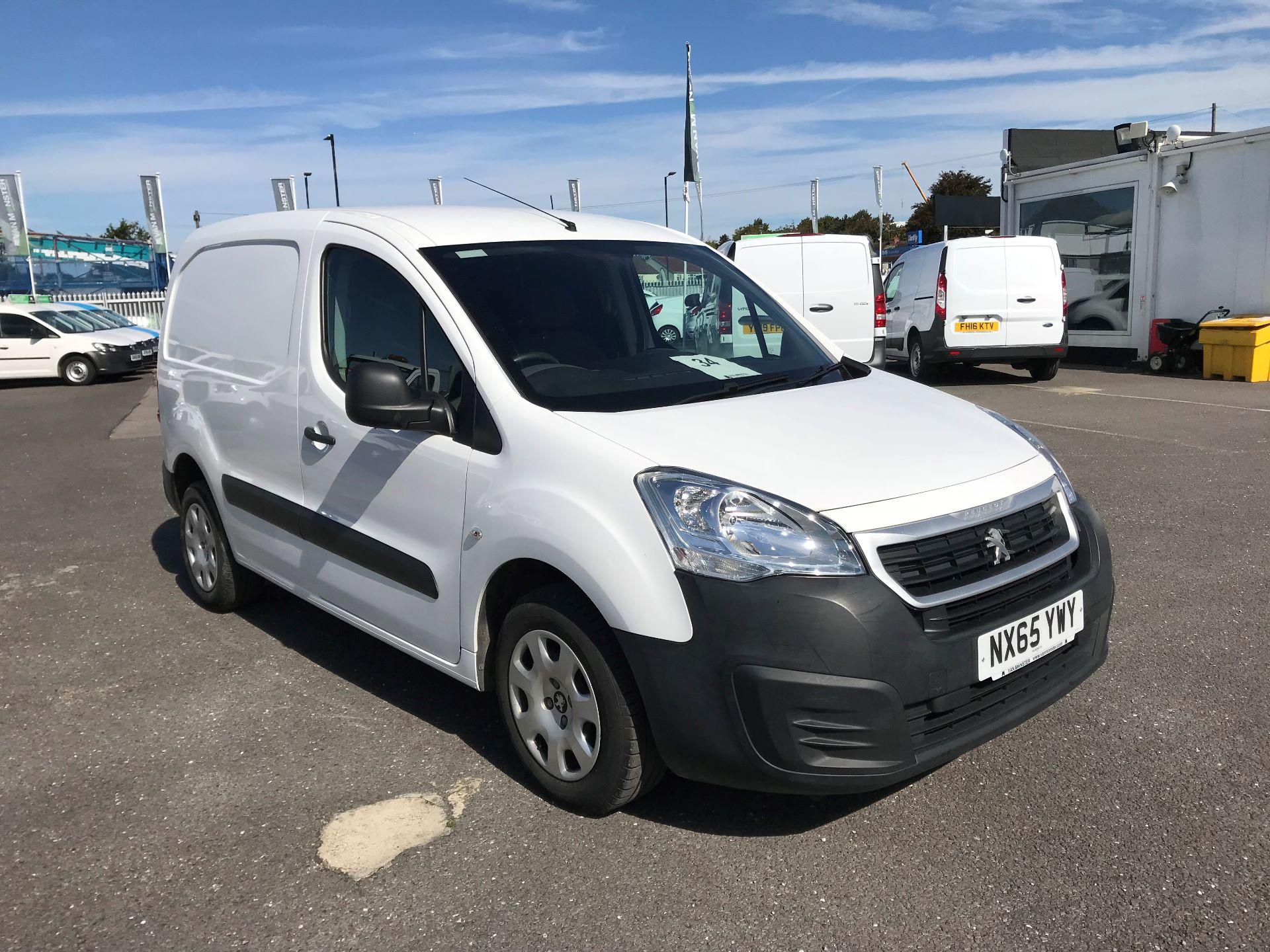 2015 Peugeot Partner  L1 850 1.6 92PS (SLD) EURO 5  (NX65YWY)