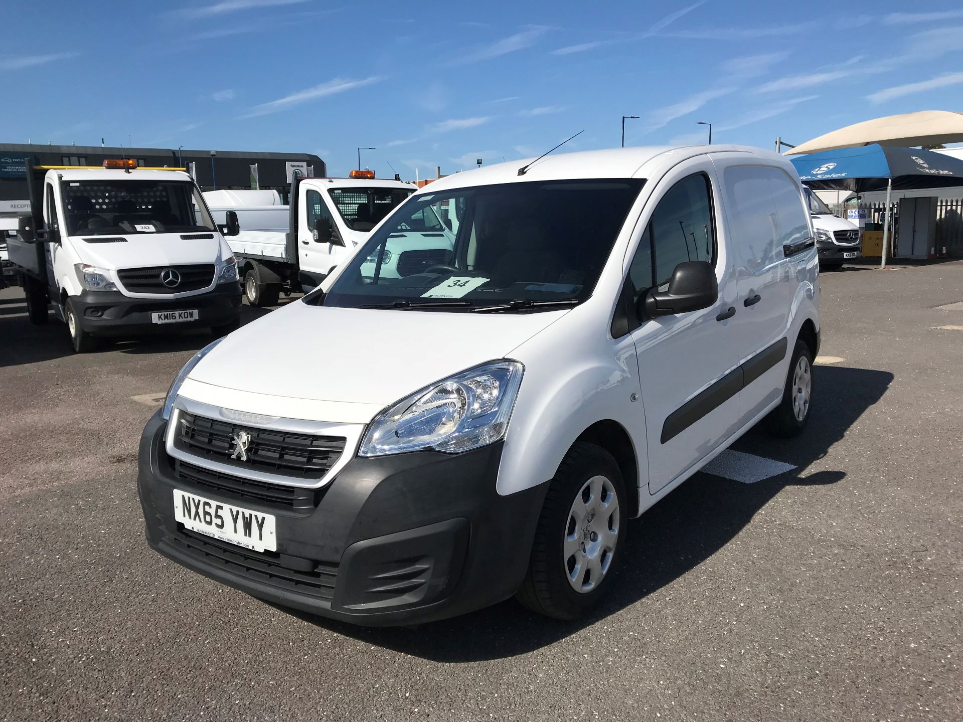 2015 Peugeot Partner  L1 850 1.6 92PS (SLD) EURO 5  (NX65YWY) Image 2