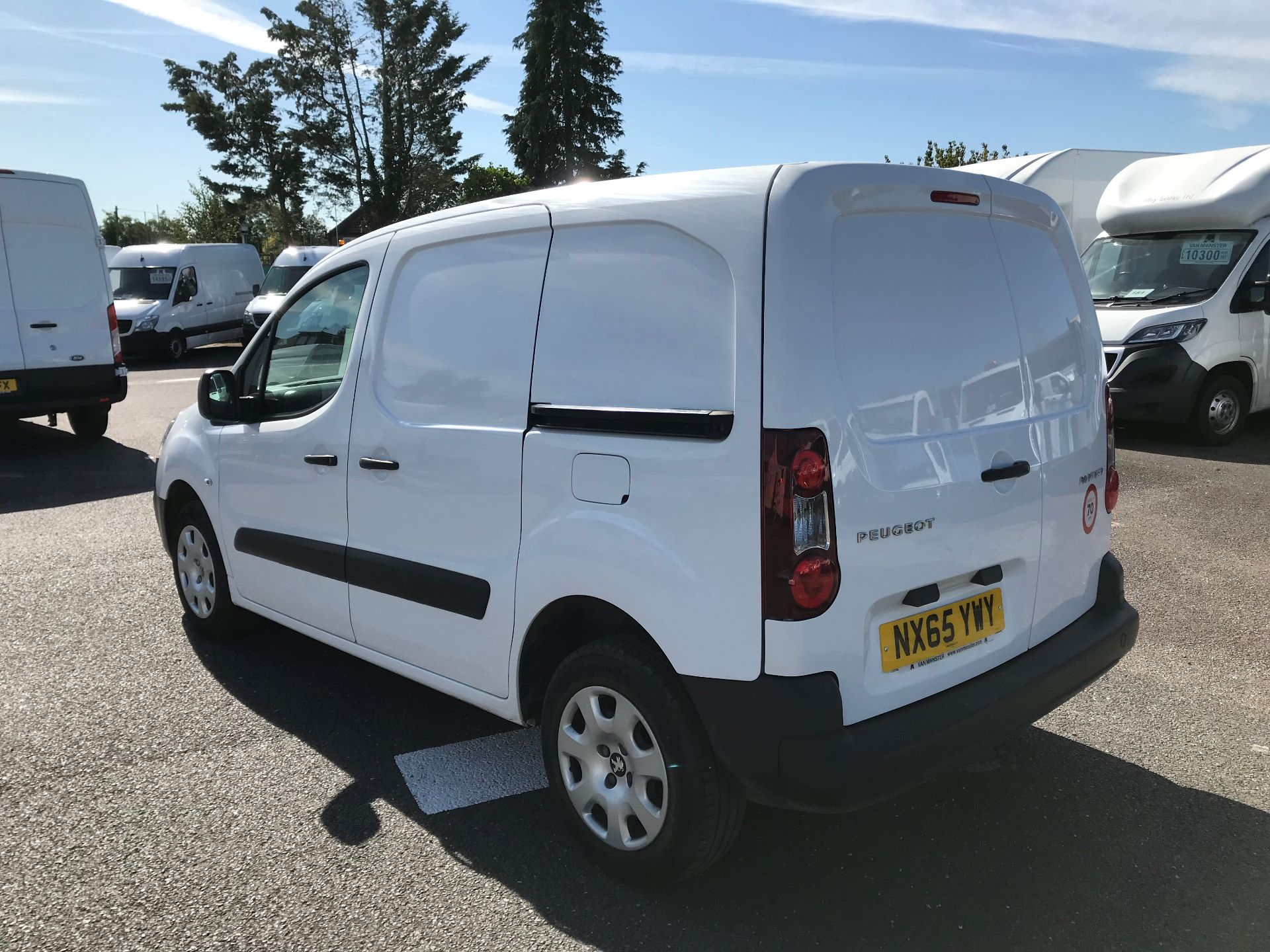 2015 Peugeot Partner  L1 850 1.6 92PS (SLD) EURO 5  (NX65YWY) Image 5