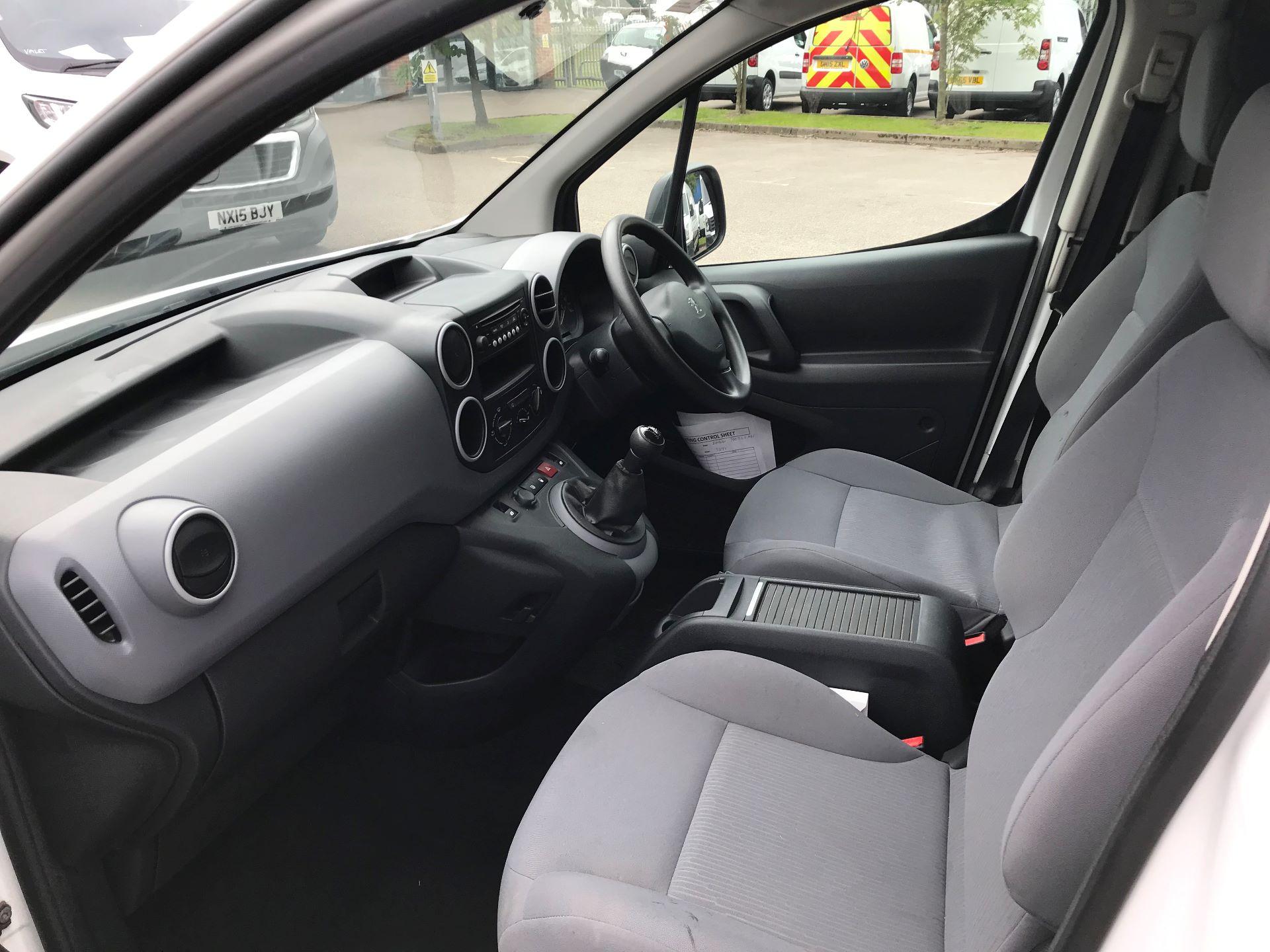 2016 Peugeot Partner 750 S 1.6 Hdi 92 Van EURO 5 (NY16DHE) Image 5