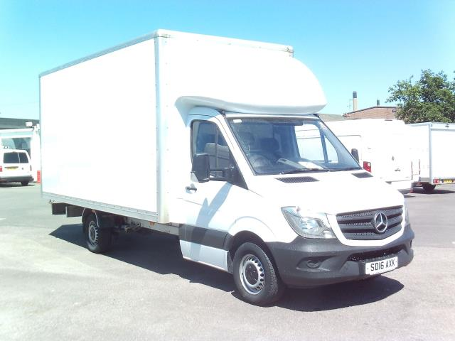2016 Mercedes-Benz Sprinter  313 LWB LONG LUTON EURO 5 (SD16AXK)