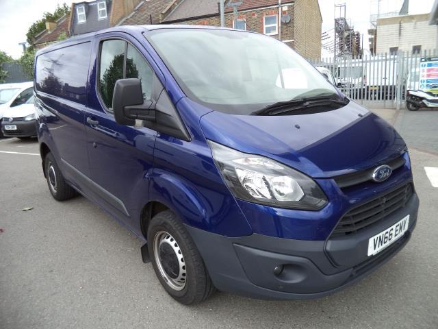 2016 Ford Transit Custom L1 H1 2.2Tdci 100Ps Van Parking Sensors Euro 5 (VN66EMV)