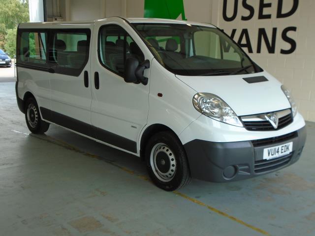 2014 Vauxhall Vivaro LWB 2.0 COMBI 115PS 29T EURO 5 (9 SEATS) NO VAT (VU14EDK)
