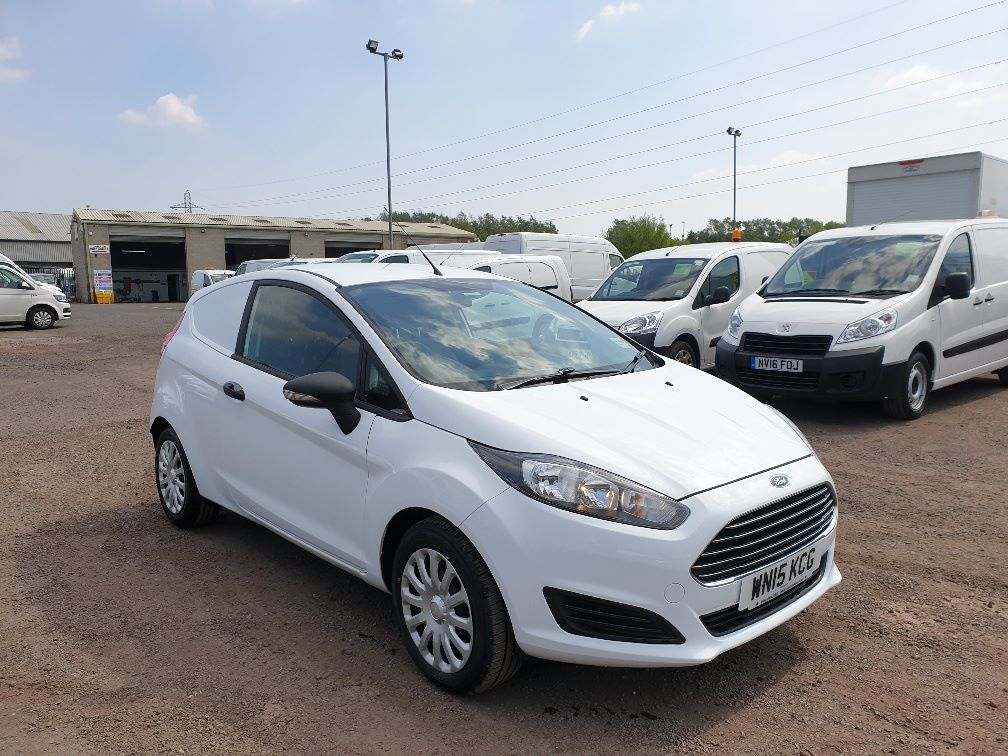 2015 Ford Fiesta DIESEL 1.5 TDCI VAN EURO 5 * SPEED LIMITER SET AT 70MPH * (WN15KCG)