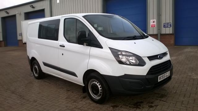 2015 Ford Transit Custom 2.2 Tdci 100Ps Low Roof D/Cab Van (WV65GJJ)