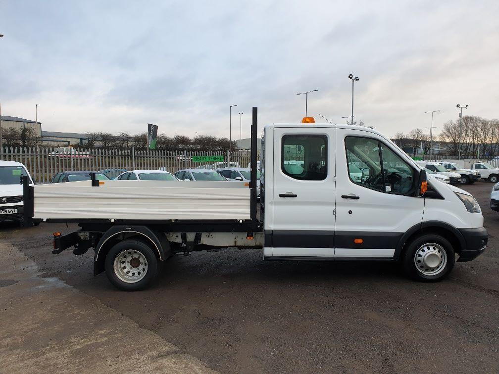 2018 Ford Transit 350 L3 DIESEL RWD 2.0TDCI 130ps D/CAB TIPPER (WX68NNL) Image 12