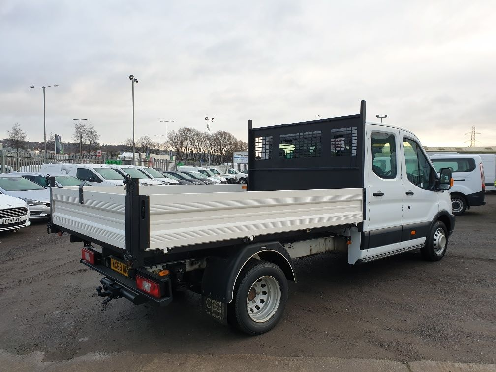 2018 Ford Transit 350 L3 DIESEL RWD 2.0TDCI 130ps D/CAB TIPPER (WX68NNL) Image 11