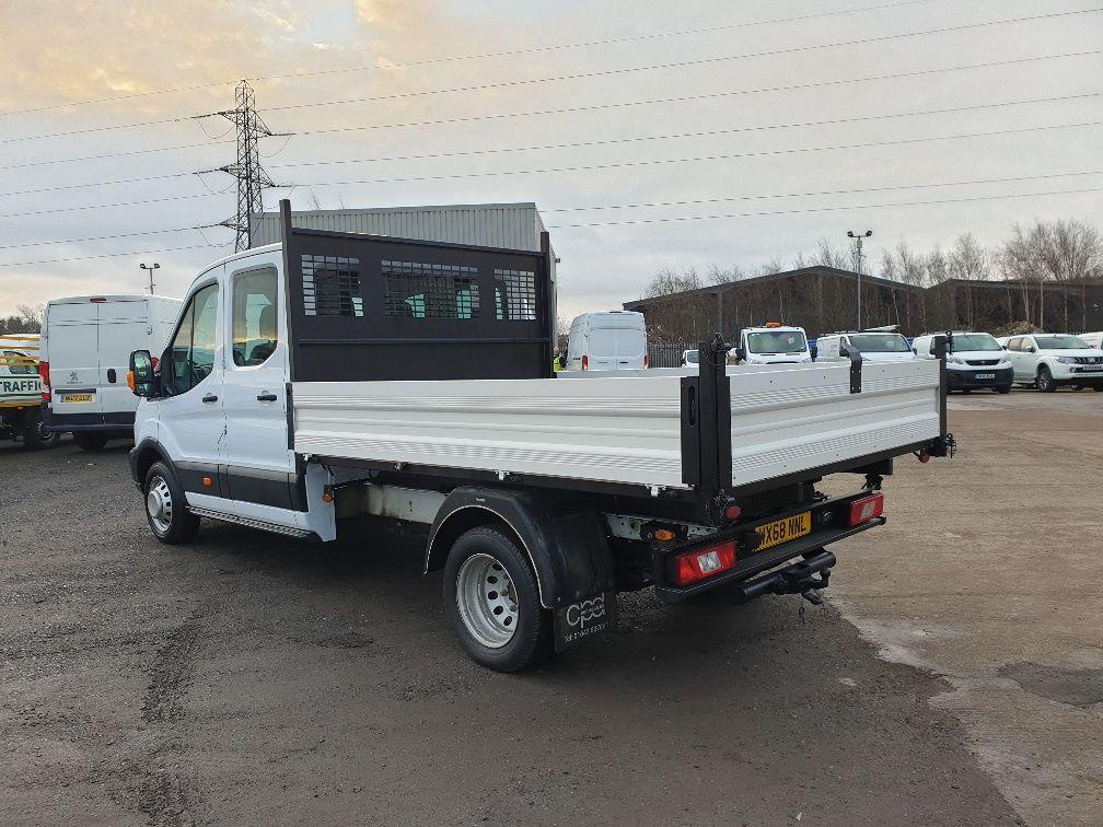 2018 Ford Transit 350 L3 DIESEL RWD 2.0TDCI 130ps D/CAB TIPPER (WX68NNL) Image 8