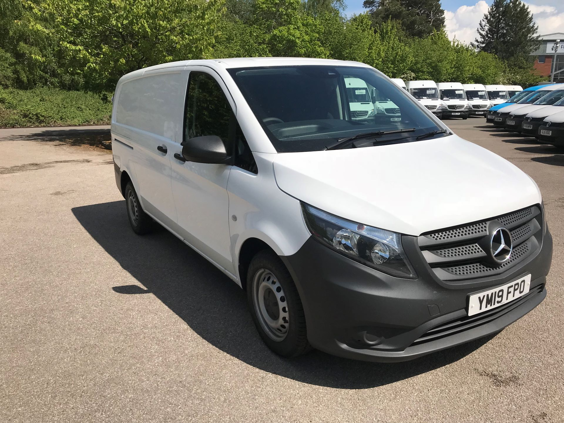 2019 Mercedes-Benz Vito 111Cdi Van Euro 6 Massive specification A/C (YM19FPO)