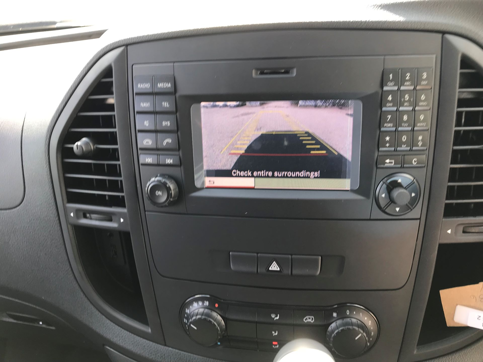 2019 Mercedes-Benz Vito 111Cdi Van Euro 6 Massive specification A/C (YM19FPU) Image 19