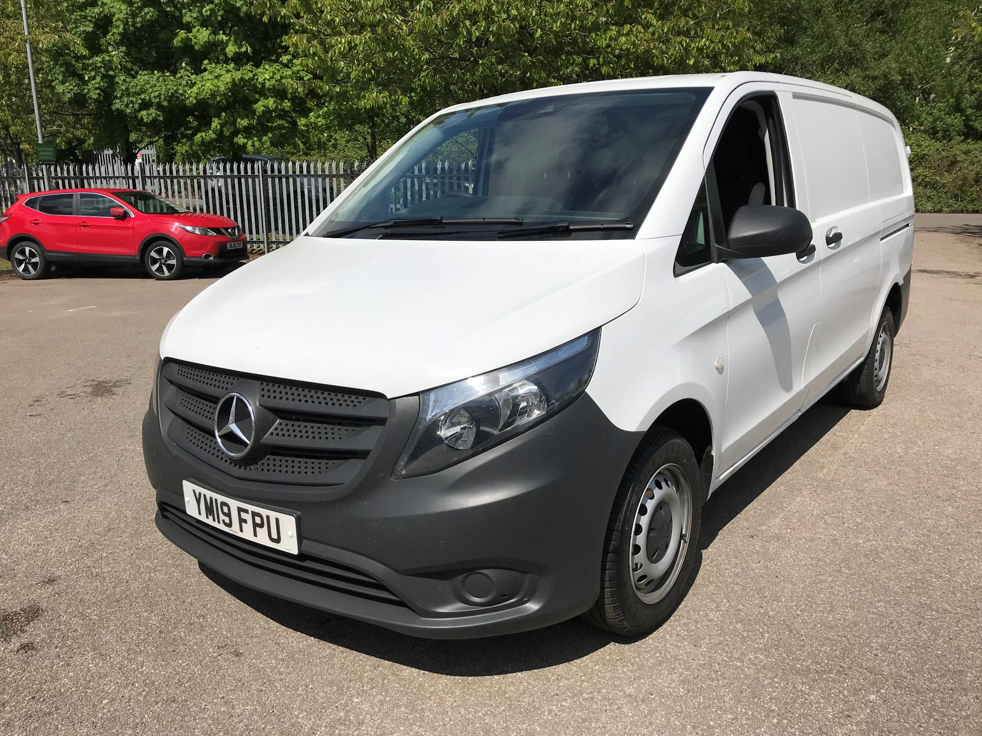 2019 Mercedes-Benz Vito 111Cdi Van Euro 6 Massive specification A/C (YM19FPU)