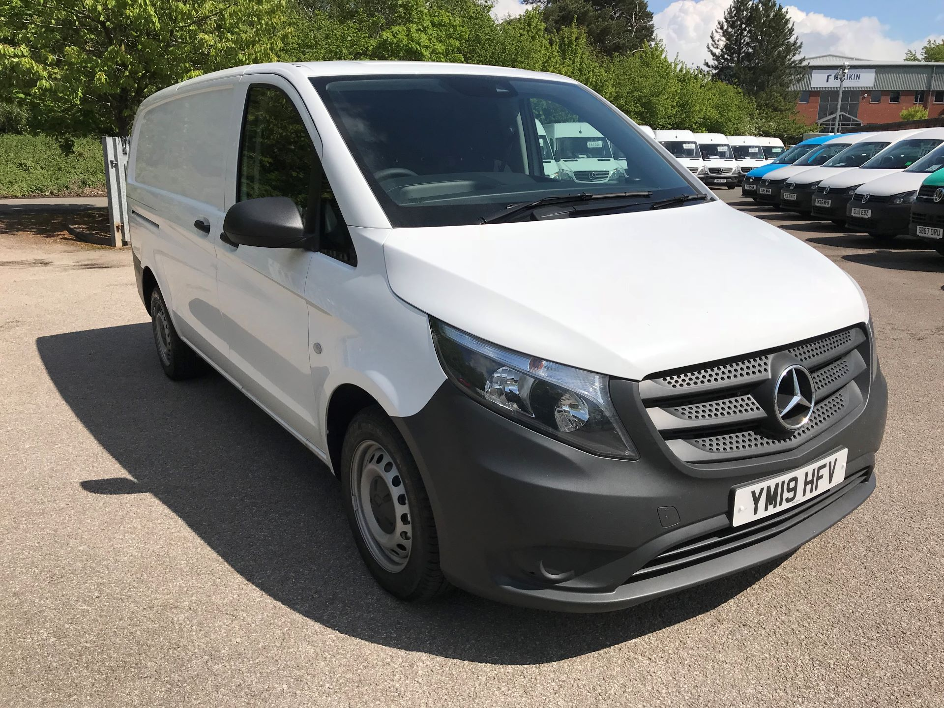 2019 Mercedes-Benz Vito 111Cdi Van Euro 6 Massive specification A/C (YM19HFV) Image 1