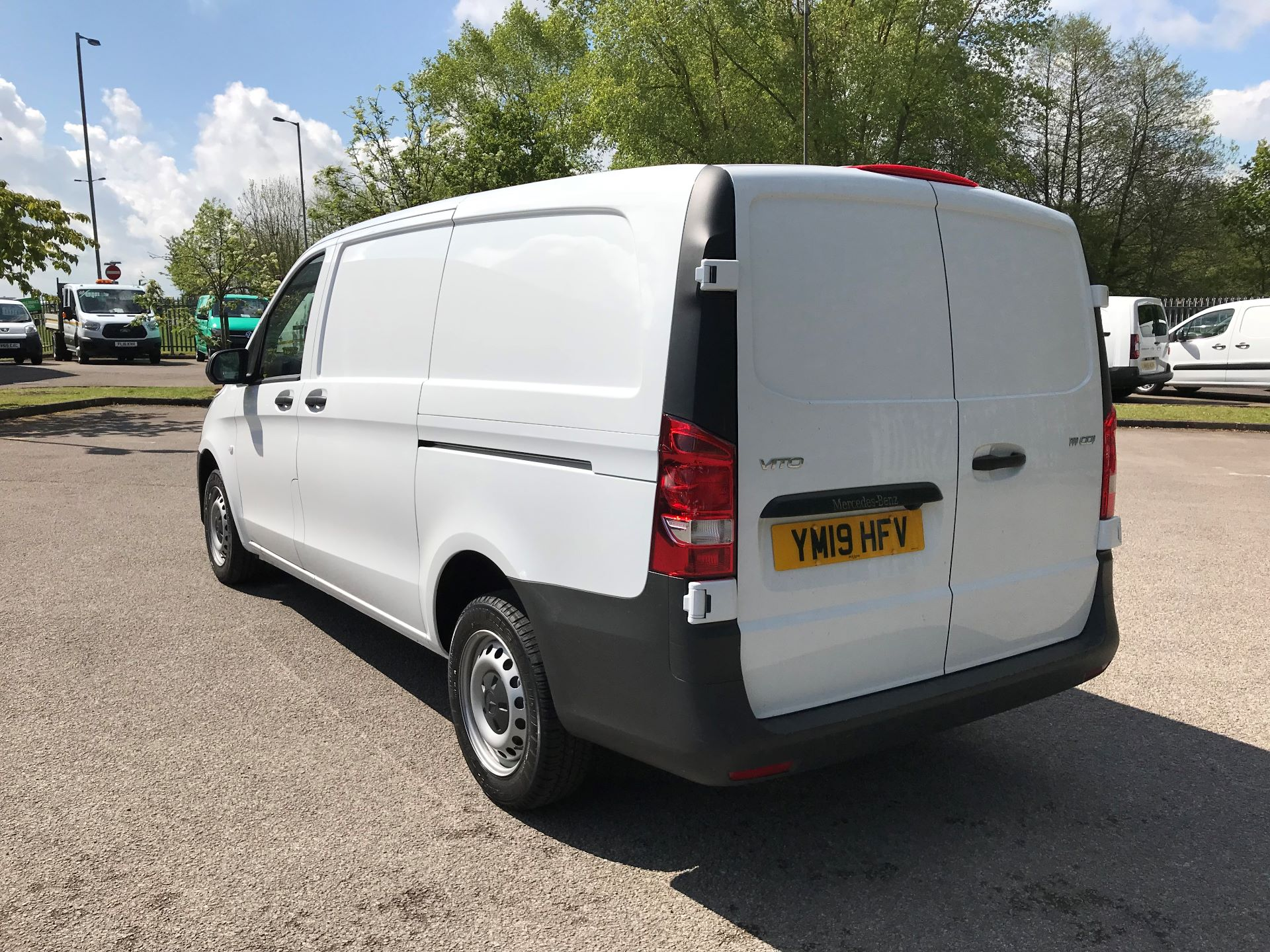 2019 Mercedes-Benz Vito 111Cdi Van Euro 6 Massive specification A/C (YM19HFV) Image 4