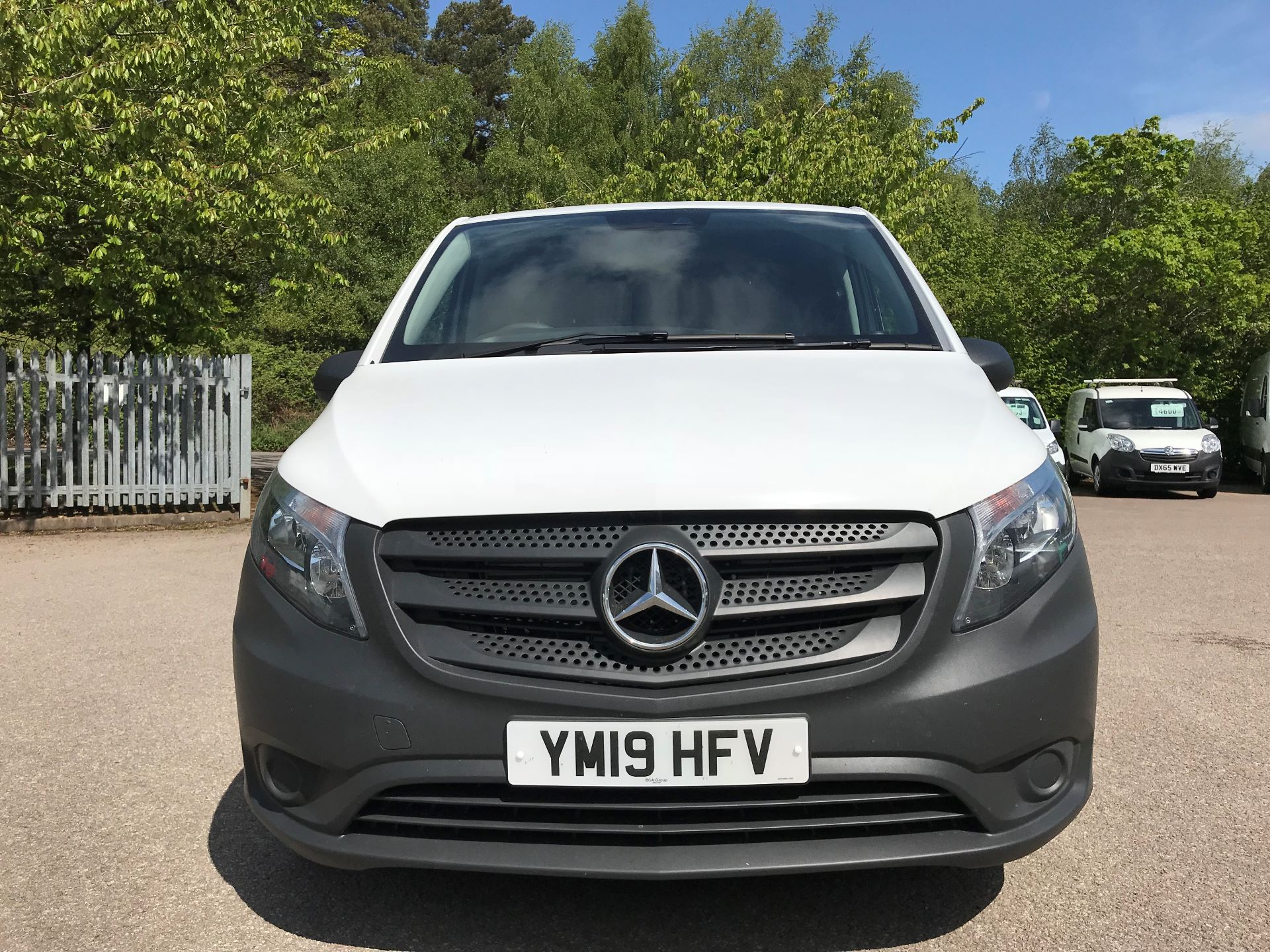 2019 Mercedes-Benz Vito 111Cdi Van Euro 6 Massive specification A/C (YM19HFV) Image 11