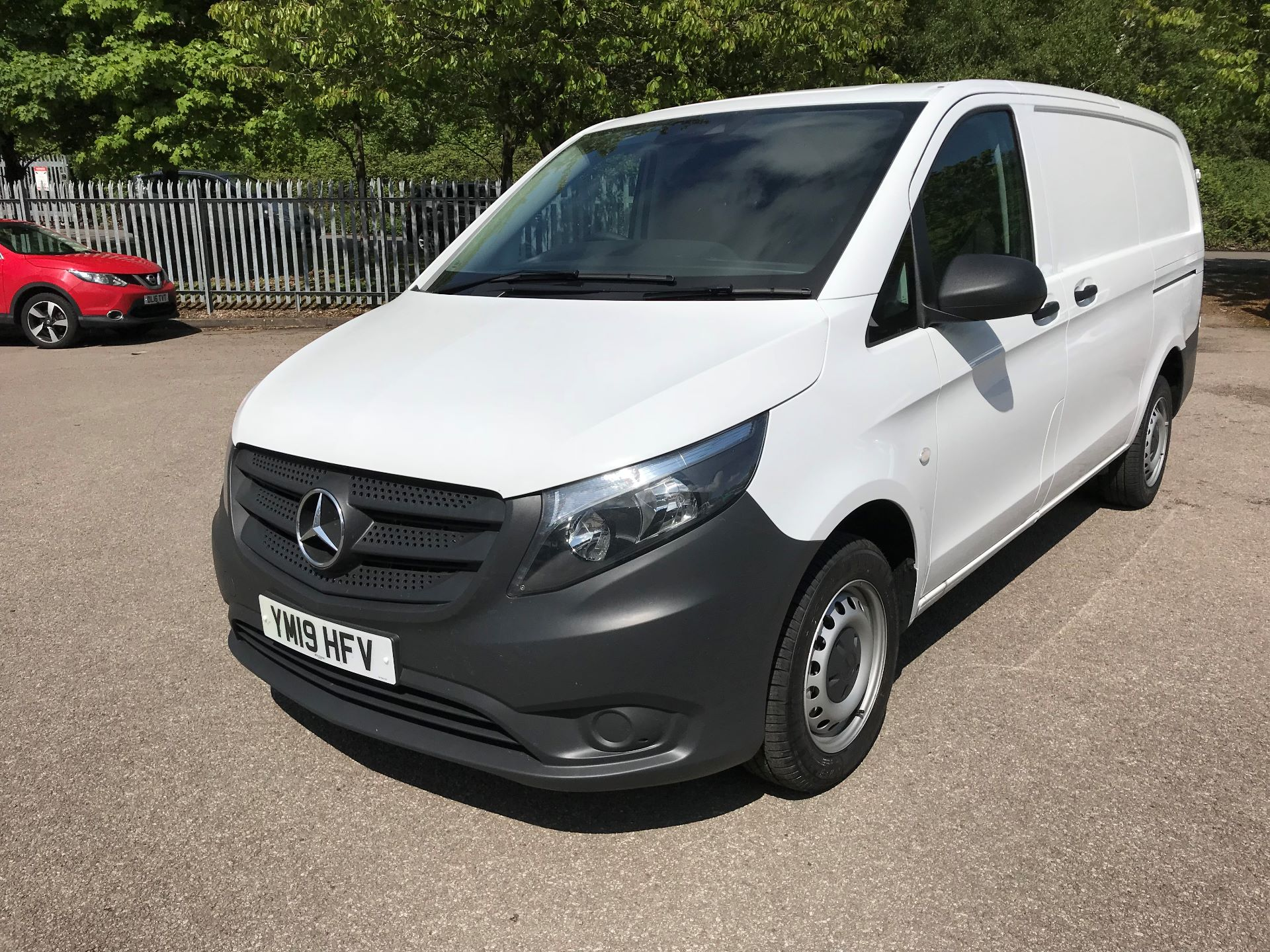 2019 Mercedes-Benz Vito 111Cdi Van Euro 6 Massive specification A/C (YM19HFV) Image 2