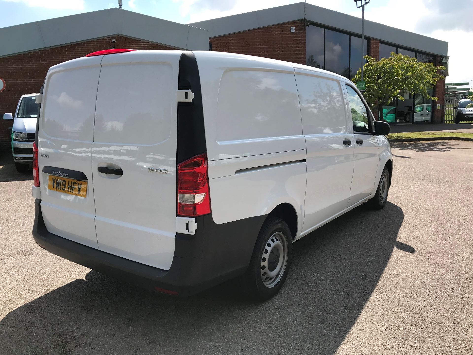 2019 Mercedes-Benz Vito 111Cdi Van Euro 6 Massive specification A/C (YM19HFV) Image 8
