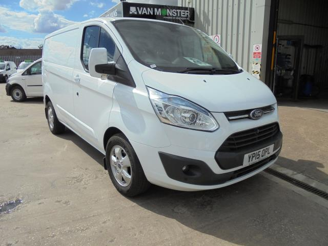 2015 Ford Transit Custom 2.2 Tdci 125Ps Low Roof Limited Van (YP15OPL)